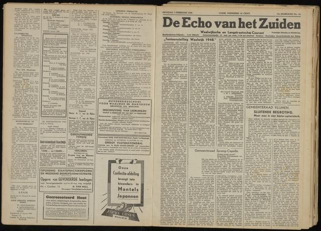 Echo van het Zuiden 1948-02-03