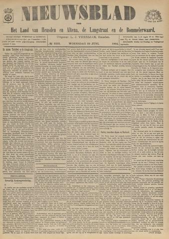 Nieuwsblad het land van Heusden en Altena de Langstraat en de Bommelerwaard 1904-06-29