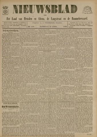 Nieuwsblad het land van Heusden en Altena de Langstraat en de Bommelerwaard 1899-04-22