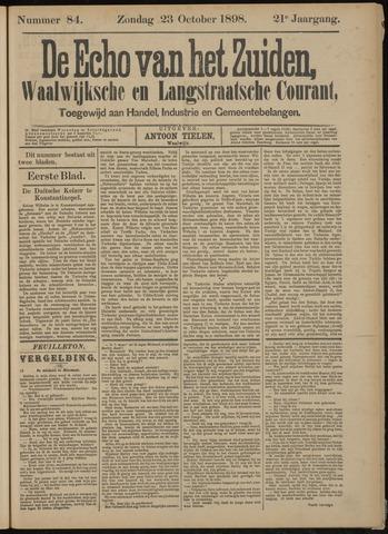 Echo van het Zuiden 1898-10-23
