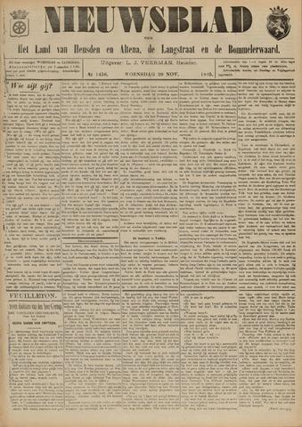 Nieuwsblad het land van Heusden en Altena de Langstraat en de Bommelerwaard 1895-11-20