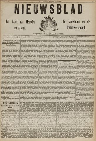 Nieuwsblad het land van Heusden en Altena de Langstraat en de Bommelerwaard 1891-09-19