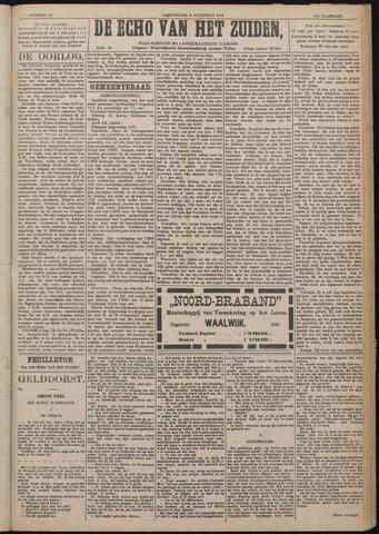 Echo van het Zuiden 1918-08-08
