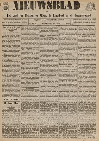 Nieuwsblad het land van Heusden en Altena de Langstraat en de Bommelerwaard 1900-06-20