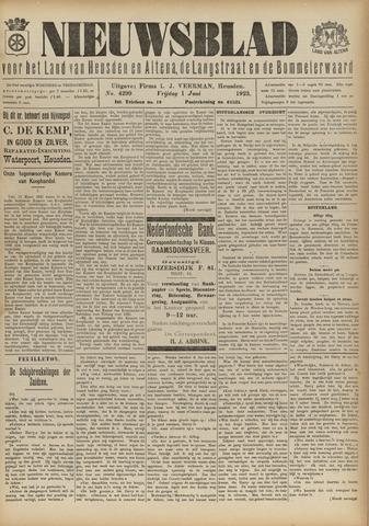 Nieuwsblad het land van Heusden en Altena de Langstraat en de Bommelerwaard 1923-06-01