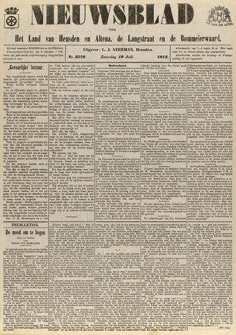 Nieuwsblad het land van Heusden en Altena de Langstraat en de Bommelerwaard 1913-07-19