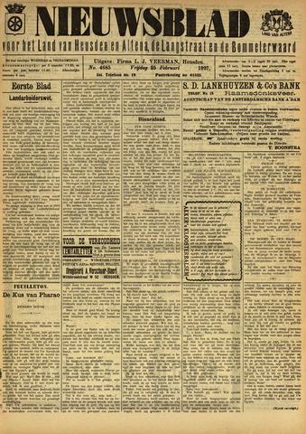 Nieuwsblad het land van Heusden en Altena de Langstraat en de Bommelerwaard 1927-02-25