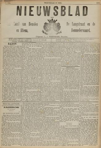 Nieuwsblad het land van Heusden en Altena de Langstraat en de Bommelerwaard 1891-05-27