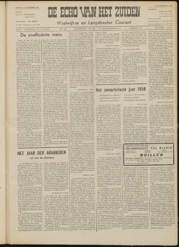 Echo van het Zuiden 1958-12-30
