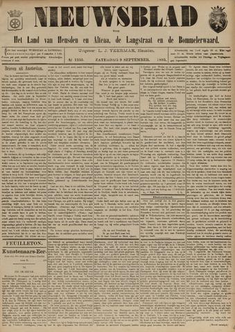 Nieuwsblad het land van Heusden en Altena de Langstraat en de Bommelerwaard 1893-09-09