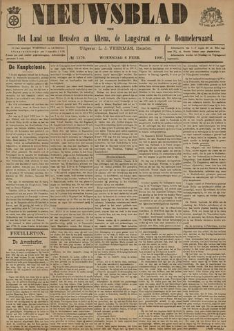 Nieuwsblad het land van Heusden en Altena de Langstraat en de Bommelerwaard 1901-02-06