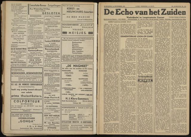 Echo van het Zuiden 1947-12-24
