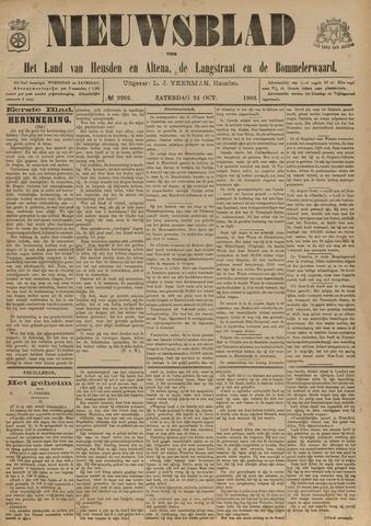 Nieuwsblad het land van Heusden en Altena de Langstraat en de Bommelerwaard 1903-10-24