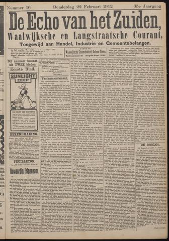 Echo van het Zuiden 1912-02-22