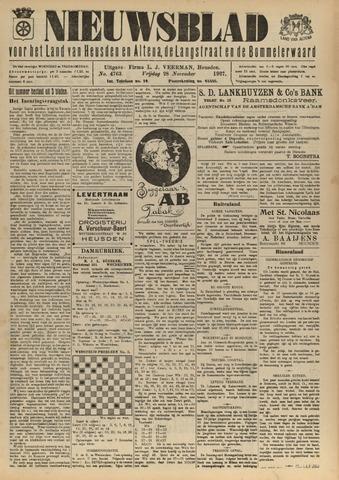 Nieuwsblad het land van Heusden en Altena de Langstraat en de Bommelerwaard 1927-11-28