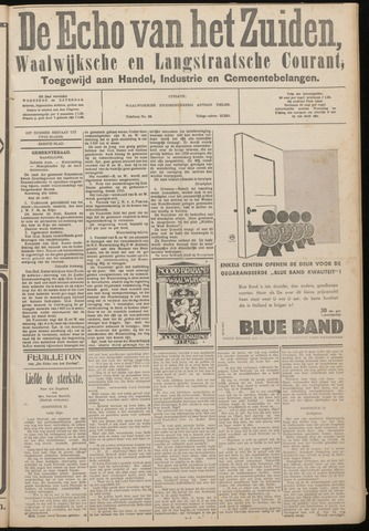 Echo van het Zuiden 1933-03-15