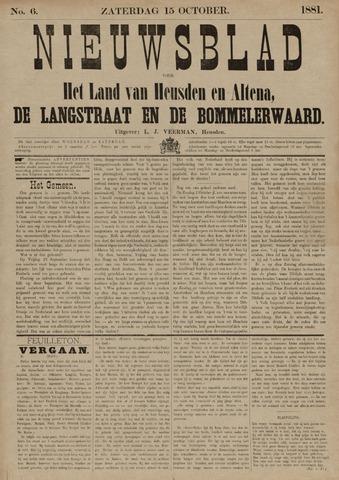 Nieuwsblad het land van Heusden en Altena de Langstraat en de Bommelerwaard 1881-10-15