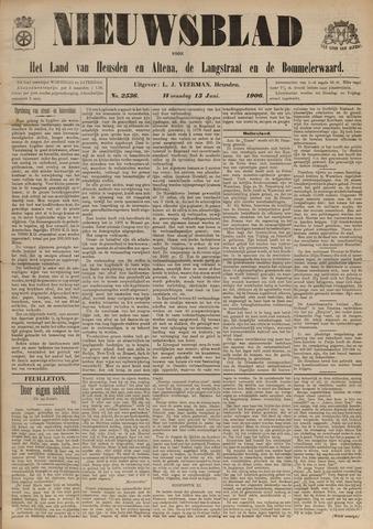 Nieuwsblad het land van Heusden en Altena de Langstraat en de Bommelerwaard 1906-06-12