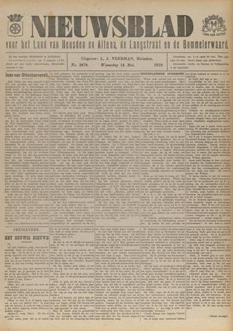 Nieuwsblad het land van Heusden en Altena de Langstraat en de Bommelerwaard 1919-05-14