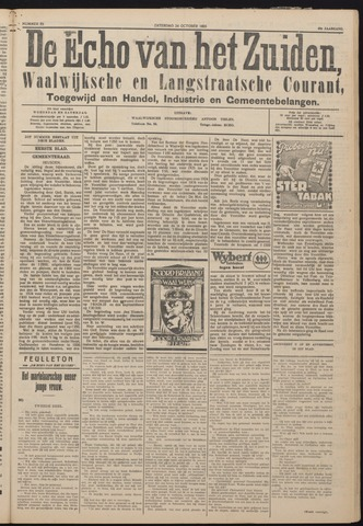 Echo van het Zuiden 1925-10-24