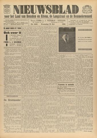Nieuwsblad het land van Heusden en Altena de Langstraat en de Bommelerwaard 1934-05-23