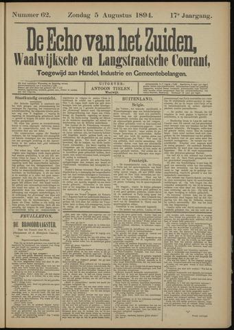 Echo van het Zuiden 1894-08-05