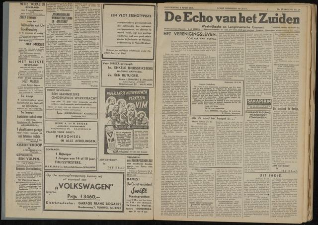 Echo van het Zuiden 1948-04-08