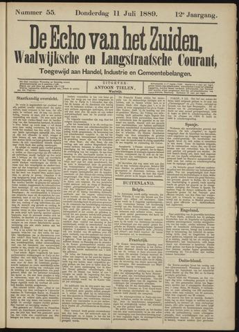 Echo van het Zuiden 1889-07-11