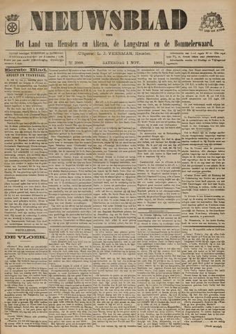 Nieuwsblad het land van Heusden en Altena de Langstraat en de Bommelerwaard 1902-11-01