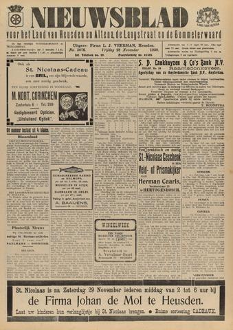 Nieuwsblad het land van Heusden en Altena de Langstraat en de Bommelerwaard 1930-11-28