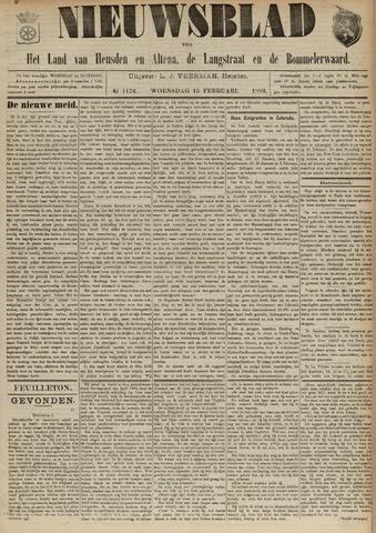 Nieuwsblad het land van Heusden en Altena de Langstraat en de Bommelerwaard 1893-02-15