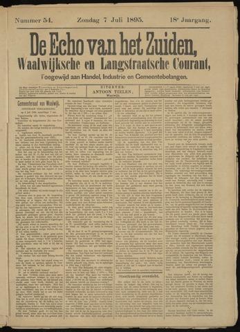 Echo van het Zuiden 1895-07-07