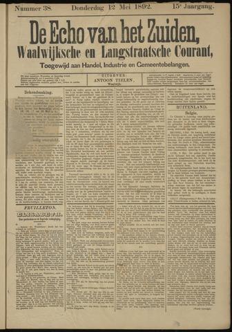 Echo van het Zuiden 1892-05-12