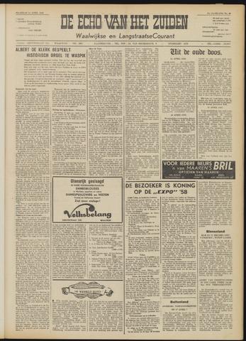 Echo van het Zuiden 1958-04-14