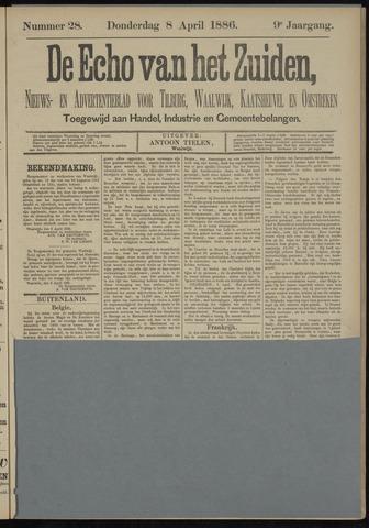 Echo van het Zuiden 1886-04-08