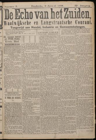 Echo van het Zuiden 1908-01-09