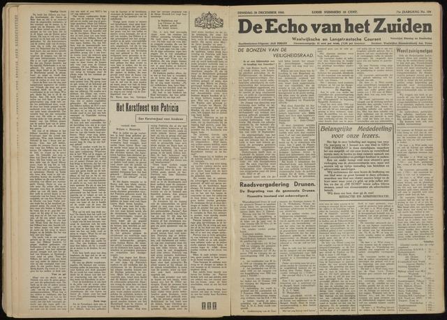 Echo van het Zuiden 1948-12-28