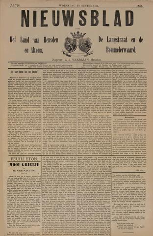 Nieuwsblad het land van Heusden en Altena de Langstraat en de Bommelerwaard 1888-09-19