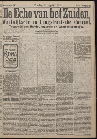 Echo van het Zuiden 1912-04-21
