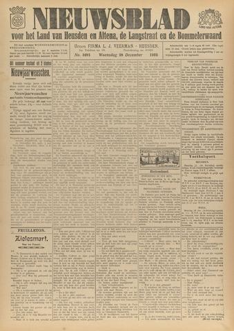 Nieuwsblad het land van Heusden en Altena de Langstraat en de Bommelerwaard 1932-12-28