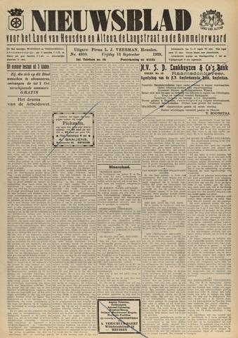 Nieuwsblad het land van Heusden en Altena de Langstraat en de Bommelerwaard 1929-09-13