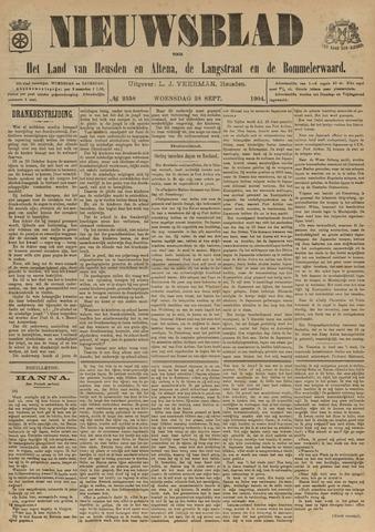 Nieuwsblad het land van Heusden en Altena de Langstraat en de Bommelerwaard 1904-09-28