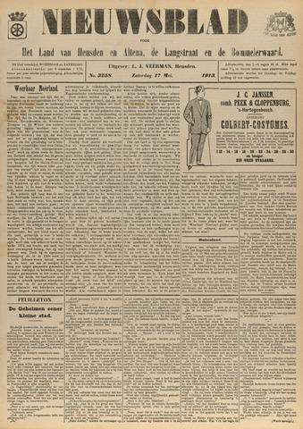 Nieuwsblad het land van Heusden en Altena de Langstraat en de Bommelerwaard 1913-05-17