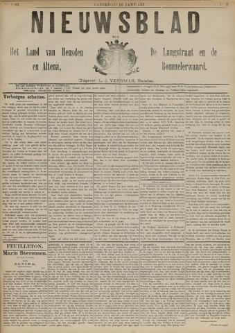 Nieuwsblad het land van Heusden en Altena de Langstraat en de Bommelerwaard 1892-01-16