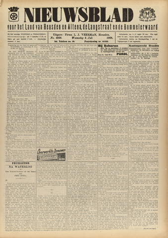 Nieuwsblad het land van Heusden en Altena de Langstraat en de Bommelerwaard 1928-07-04