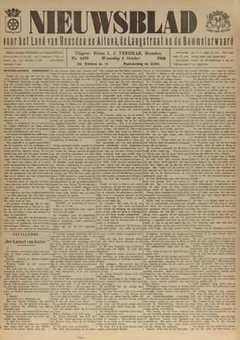 Nieuwsblad het land van Heusden en Altena de Langstraat en de Bommelerwaard 1924-10-08