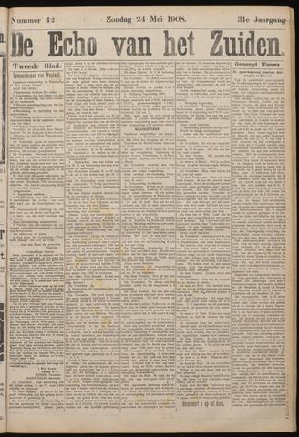 Echo van het Zuiden 1908-05-24