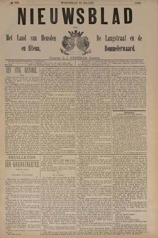 Nieuwsblad het land van Heusden en Altena de Langstraat en de Bommelerwaard 1888-03-21