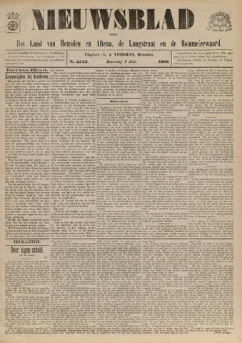 Nieuwsblad het land van Heusden en Altena de Langstraat en de Bommelerwaard 1906-07-07