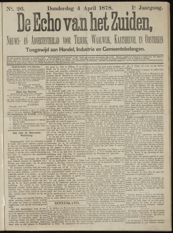 Echo van het Zuiden 1878-04-04